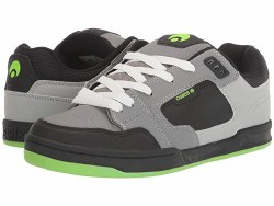 Osiris Trace Grey /Lt Grey /Lime Classic 90's Style retro long lasting durability 08.