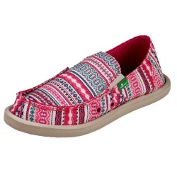 Sanuk Donna Blanket RLBN. Name Brands , Low Prices , Quality Shoes , Slip On Sidewalk Surfers05.0