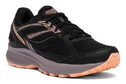 Saucony Womens Cohesion TR14 Black Sunset Wide07.5