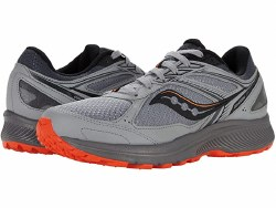 Saucony Mens Cohesion TR14 Alloy Fire Explore the off road in Saucont style and comfort 09.0