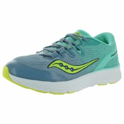 Saucony Girls Freedom Iso Grey Teal  5.5