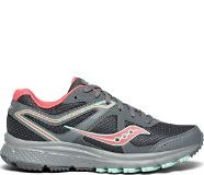 Saucony Grid Cohesion Trail 11 Womens Grey Peach Saucony S10427-406.5