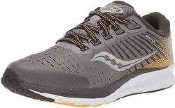 Saucony guide 13 grey yellow boys running shoes4.0