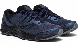 Saucony Guide Iso 2 Trail for mild to severe pronators. why limit yourself to just the roads? seamlessly transistion all elements with the guide iso 2 trail09.0