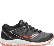 Saucony Kids Guide Iso 2 Black Grey1.5