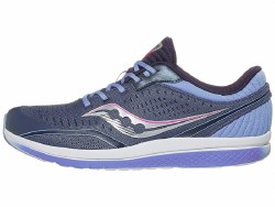 Saucony Girls running shoes Kinvara 11 Grey Purple1.0