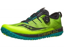 Saucony Switchback Trail Running Shoes Citron Black 09.5