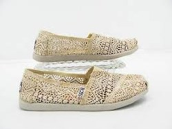 SKECHERS Bobs World-Labyrinth natural Women's Casual Slip-On Flats Shoes 11