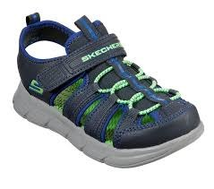 Skechers Toddlers Sandals Charcoal Royal07.0