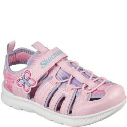 Skechers Toddler Sandal Pink Multi 06.0