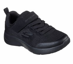 Skechers Dynamight 2.0 Black Little Kids Running Shoes 011.0