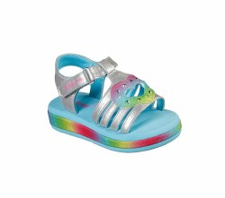 Skechers fairy hearts light up sandals for toddlers06.0