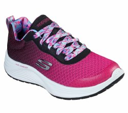 Skechers little girls running shoes soft woven fabric , air cooled memory foam , shock absorbing midsole . Brand Name , Low Price , Quality shoes1.0