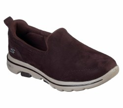 Skechers Go Walk 5 Gift Chocolate Womens walking slip on shoes 1591306.5