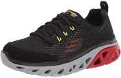 Skechers-Glide-Step-Sport-Black-Red Boys Running Shoes 011.