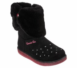 Skechers Glitzy Glam Toddlers Light Up Boots 07.0