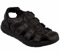 Skecher Mens Fisherman Style Sandal   Black07.0