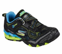 Skechers Hydro Static Kids Running Shoes Z strap for easy on easy off Water repellant97434L BBLM  011.