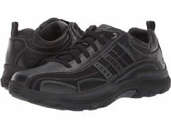 Skechers Mens  Manden , Casual Dress Shoes , Black 08.0