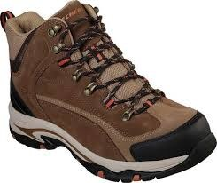 Skechers Trego-Marso Boot Soft Sport Suede ,synthetic and mesh fabric upper in a lace up waterproof hiking ankle boot air cooled memory foam insole08.0