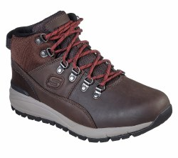 Skechers Merix Casual Boot style    Relaxed fit , Smooth Leather and air cooled memory foam. 08.5