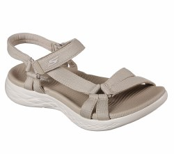 Skechers On The Go Brilliancy Natural Comfort Sporty Cushioned  Sandal By Skechers05.0