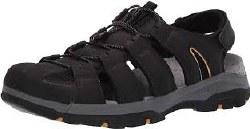 Skechers Mens Sandal   Outriver Black 08.0