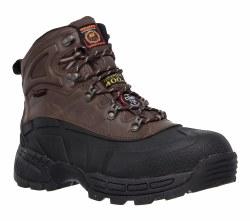 Skechers Radford-Black/Brown Waterproof Boot Mens 77050/BKBR 08.0
