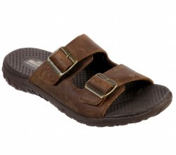 Skechers Mens Sandals comfortable two strap with memory foam 08.0