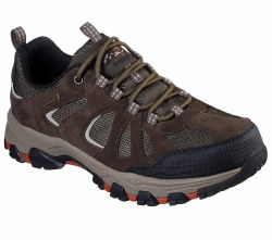 Skechers Revano, extra wide width comfort , go off road with rugged style and sure footed confidence, durable leather and mesh fabric, waterproof07.0