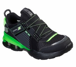 Skechers Shredaziod Black Lime 011.