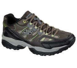 Skechers Mens Training Shoes Loaded with Extras Sparta 2.0 Domitia Olive Black 08.5