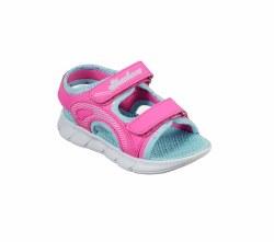 Skechers Toddler Sandal Hot Pink Multi 05.0