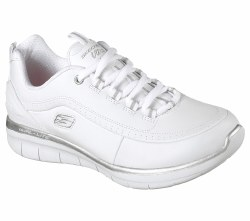 Skechers Womens Synergy 2.0 Walking Shoes Sooth Leather Upper Padded Collar and Tongue  08.