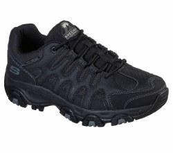 Skechers Mens Hiker Terrabite Dellga Black08.0