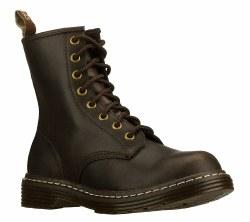 Skechers Thrash Black Boots Womens Doc Martin Type 48445/BLK05.0