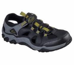 Skechers Trago Sandals Black , From The Trails to the Beach Skechers Trago Fisherman style sandals will get you where your going. 07.0