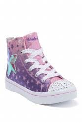 Skechers Twi-Lites Lavender Hi Top Twinkle Toes 011.