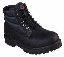 Skechers Mens Verno Waterproof Boots Black 08.0