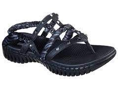 Skechers go walk Smart womens sandal Verona Black Grey 08.0