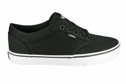 Vans Atwood Black White With Embossed Checkerboard Wraparound Soles 09.0