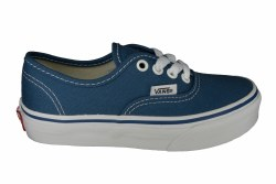 VANS Authentic navy/true white Little Kids Skate Shoes 013.0