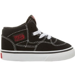 Vans Half Cab Toddlers Racing Red Black Iconic Classic Vans Style06.5
