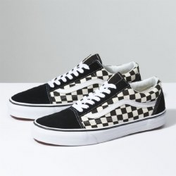 Vans old skool black white primary check  1.0