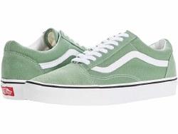 Vans Old Skool Classics  Shale Green True White 06.0