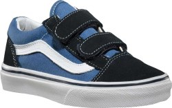Vans Old Skool V Navy Youth Size Coolness in Classic Vans Old  Skool Stlye011.