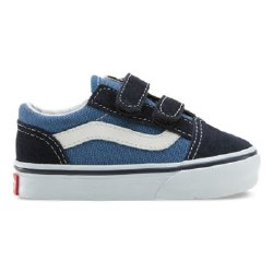 Vans old skool toddlers navy velcro06.0