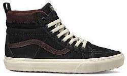 Vans SK8 Hi MTE Black Chocolate Torte  Premium Weather resistant leather Uppers 08.5