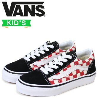 VANS-Old Skool Blk Red Chec 1. - Shoes