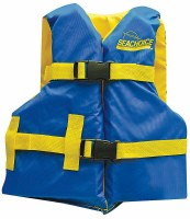 SEACHOICE BLUE YELLOW YOUTH VEST